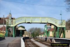 2020-03-23 Covid 19 shuts the Swanage Railway. (94) Corfe Castle. 094