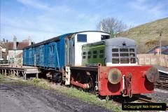 2020-03-23 Covid 19 shuts the Swanage Railway. (95) Corfe Castle. 095