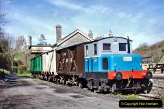 2020-03-23 Covid 19 shuts the Swanage Railway. (96) Corfe Castle. 096