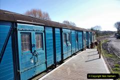 2020-03-23 Covid 19 shuts the Swanage Railway. (97) Corfe Castle. 097