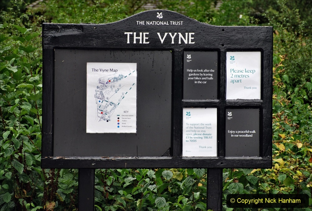 Covid 19 Visits The Vyne (NT) Basingstoke and Thame Oxfordshire