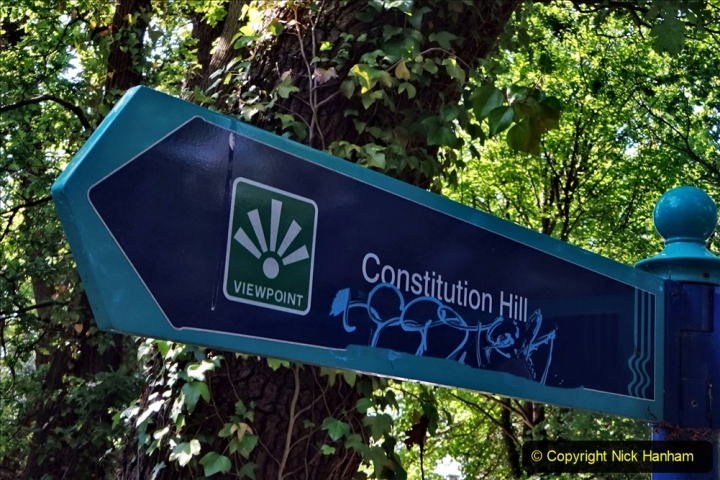 2020 May 15 Covid 19 Walk Parkstone & Constitution Hill View Point. (20) 020