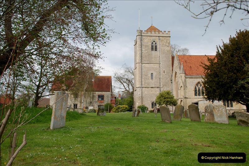 2019-04-14 to 15 Dorchester-on-Thames, Oxfordshire. (43) Dorchester Abbey. 46043