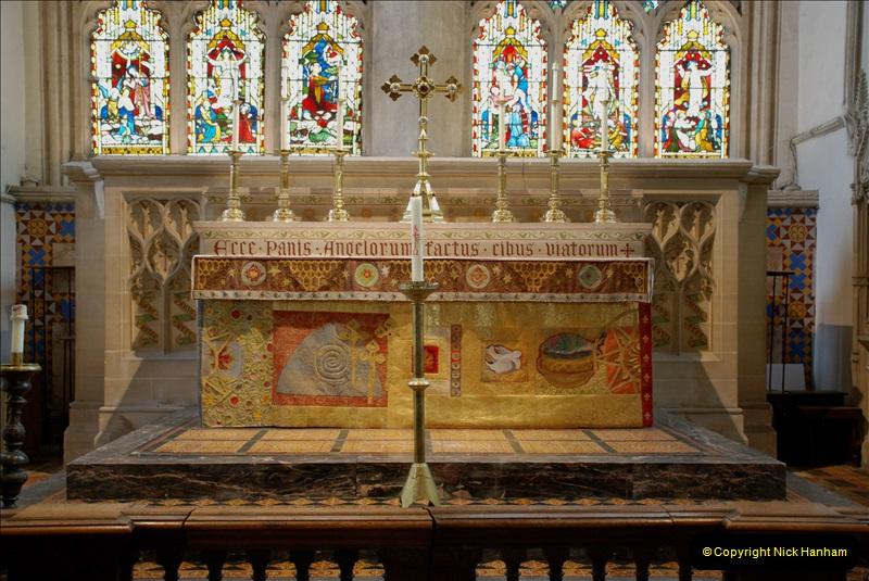 2019-04-14 to 15 Dorchester-on-Thames, Oxfordshire. (50) Dorchester Abbey. 53050