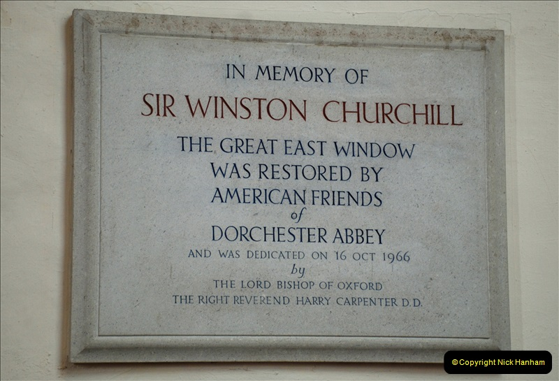 2019-04-14 to 15 Dorchester-on-Thames, Oxfordshire. (51) Dorchester Abbey. 54051