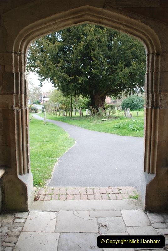 2019-04-14 to 15 Dorchester-on-Thames, Oxfordshire. (71) Dorchester Abbey. 74071