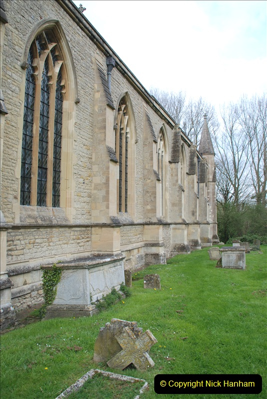 2019-04-14 to 15 Dorchester-on-Thames, Oxfordshire. (72) Dorchester Abbey. 75072