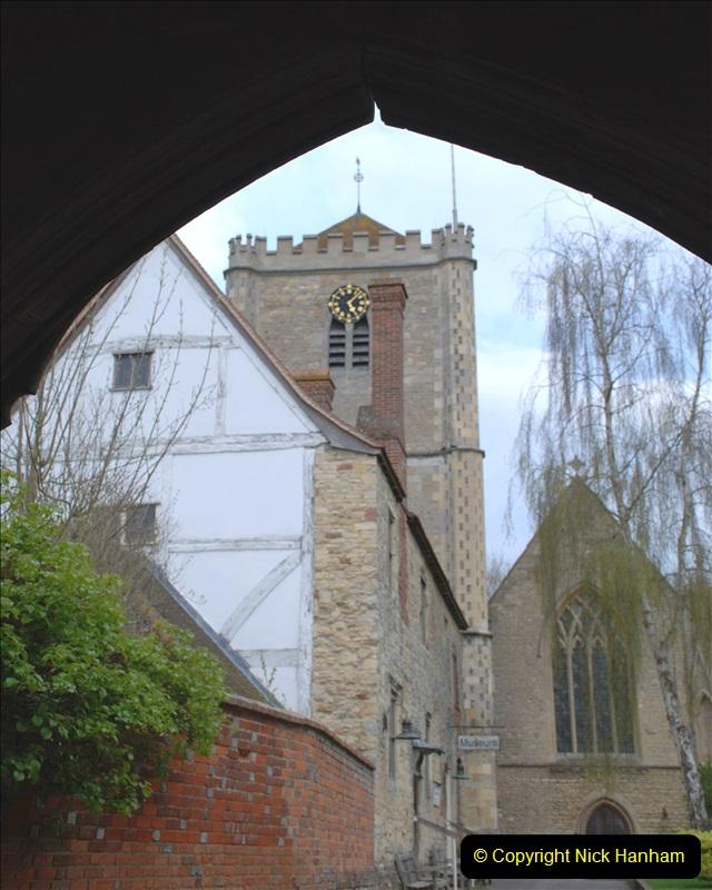 2019-04-14 to 15 Dorchester-on-Thames, Oxfordshire. (77) Dorchester Abbey. 80077