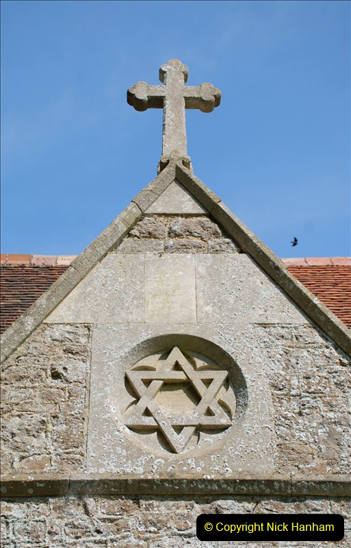 2019-04-14 to 15 Dorchester-on-Thames, Oxfordshire. (94) A walk near Dorchester and the River Thames. Little Wittenham Church. 97094