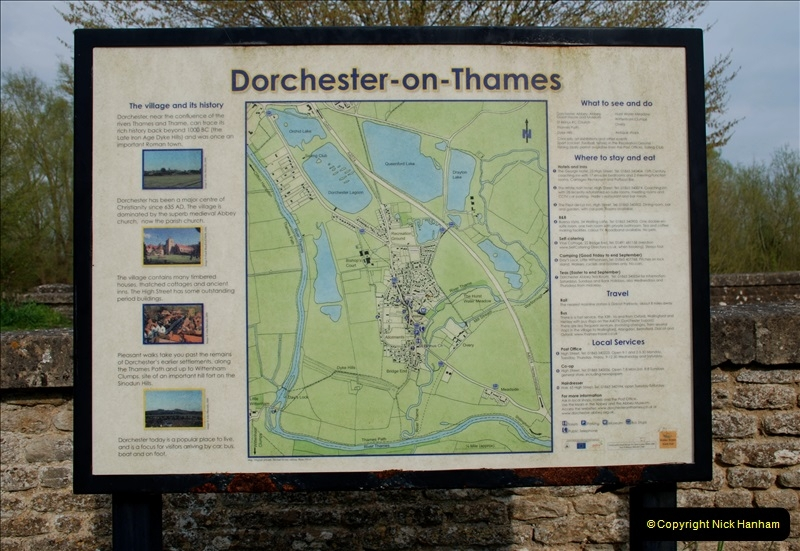 Dorchester-onThames, Oxfordshire 14 to 15 April 2019