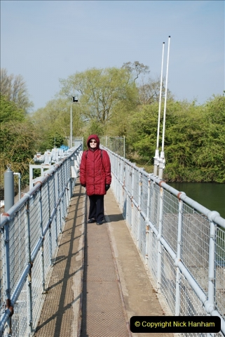 2019-04-14 to 15 Dorchester-on-Thames, Oxfordshire. (121) A walk near Dorchester and the River Thames. 124121