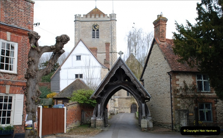 2019-04-14 to 15 Dorchester-on-Thames, Oxfordshire. (41) Dorchester Abbey.44041
