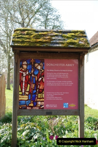 2019-04-14 to 15 Dorchester-on-Thames, Oxfordshire. (42) Dorchester Abbey. 45042