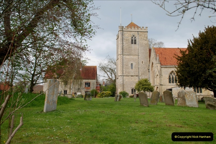 2019-04-14 to 15 Dorchester-on-Thames, Oxfordshire. (43) Dorchester Abbey. 46043