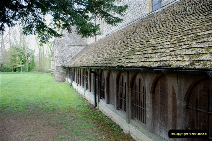 2019-04-14 to 15 Dorchester-on-Thames, Oxfordshire. (73) Dorchester Abbey. 76073