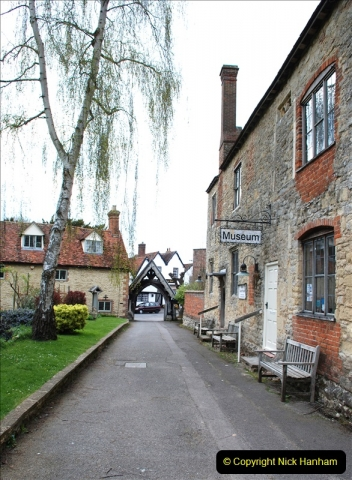 2019-04-14 to 15 Dorchester-on-Thames, Oxfordshire. (75) Dorchester Abbey. 78075