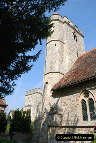 2019-04-14 to 15 Dorchester-on-Thames, Oxfordshire. (93) A walk near Dorchester and the River Thames. Little Wittenham Church. 96093