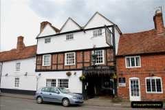 2019-04-14 to 15 Dorchester-on-Thames, Oxfordshire. (6) Our Hotel. 9006