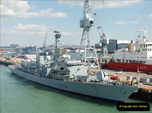 2013-05-25 Portsmouth - English Chanel - Celtic Sea - Atlantic Ocean.  (65)0065