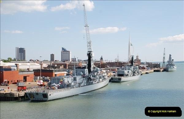 2013-05-25 Portsmouth - English Chanel - Celtic Sea - Atlantic Ocean.  (76)0076