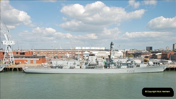 2013-05-25 Portsmouth - English Chanel - Celtic Sea - Atlantic Ocean.  (80)0080