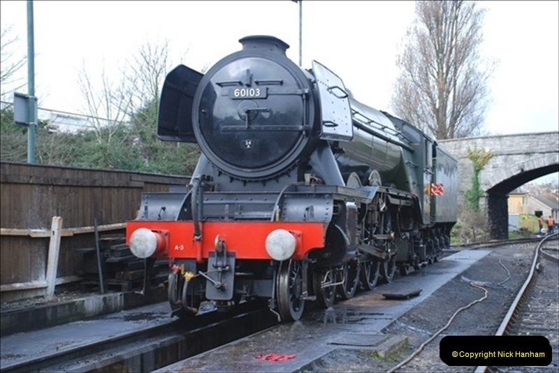 2019-03-20 Flying Scotsman at Swanage (18) 064