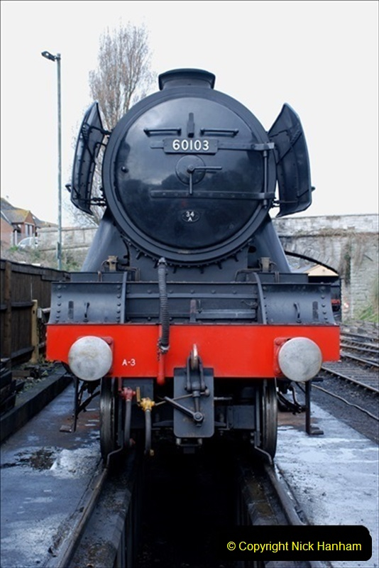 2019-03-20 Flying Scotsman at Swanage (19) 065