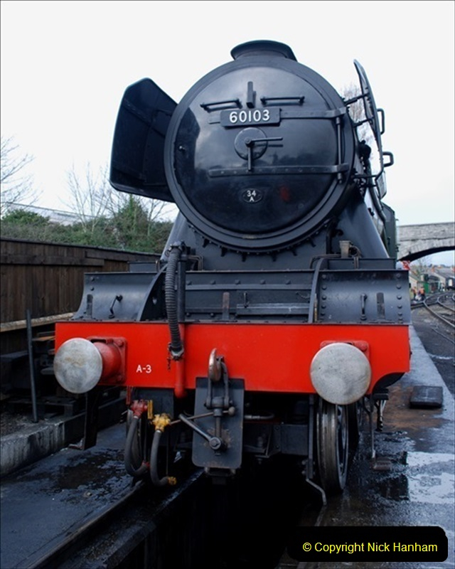 2019-03-20 Flying Scotsman at Swanage (20) 066