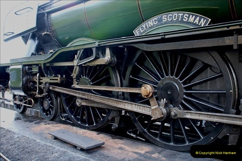 2019-03-20 Flying Scotsman at Swanage (30) 076
