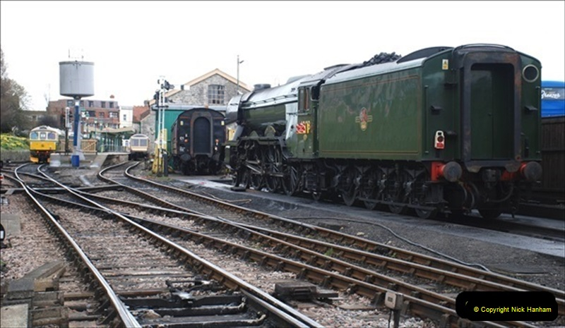 2019-03-20 Flying Scotsman at Swanage (75) 121