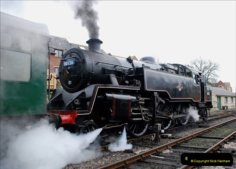 2019-03-22 Flying Scotsman at Swanage. (114) 287