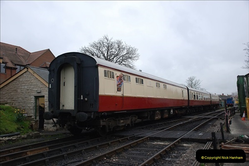 2019-03-22 Flying Scotsman at Swanage. (119) 292