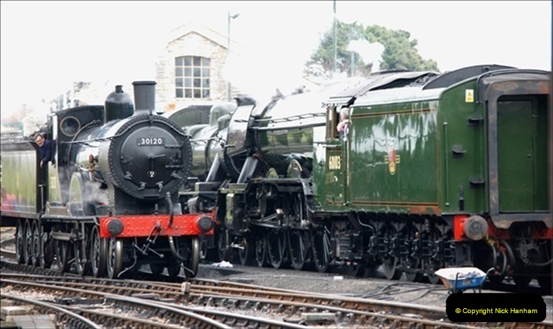 2019-03-22 Flying Scotsman at Swanage. (121) 294