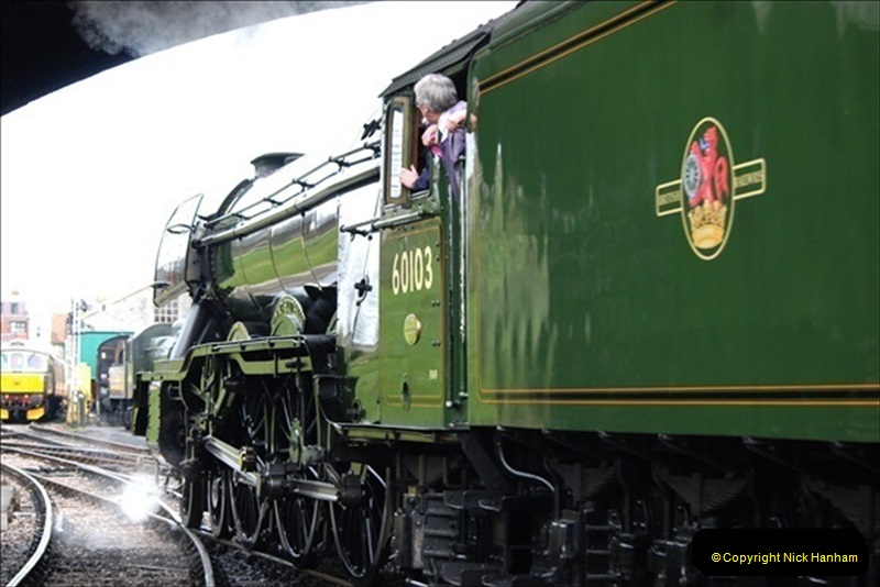 2019-03-22 Flying Scotsman at Swanage. (131) 304