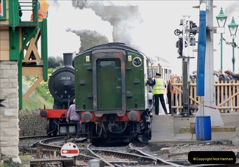 2019-03-22 Flying Scotsman at Swanage. (133) 306