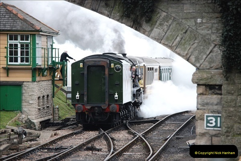 2019-03-22 Flying Scotsman at Swanage. (140) 313