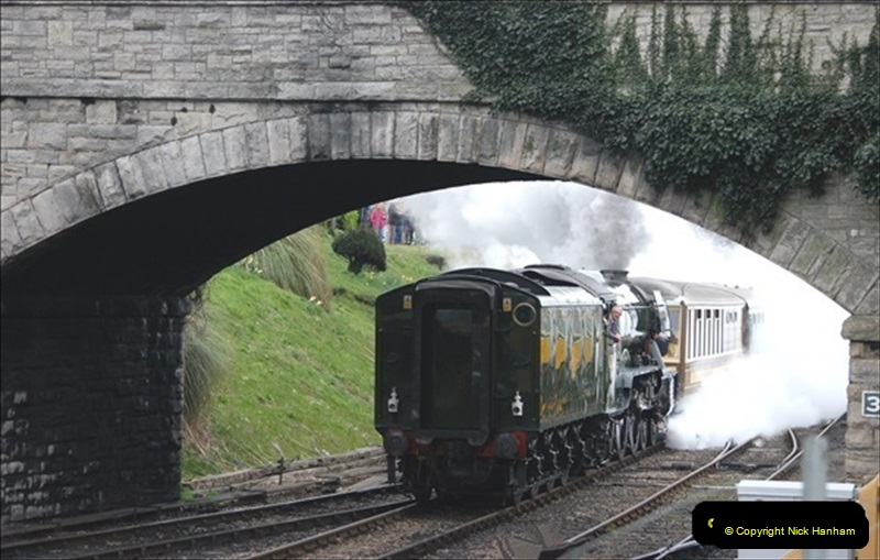 2019-03-22 Flying Scotsman at Swanage. (141) 314