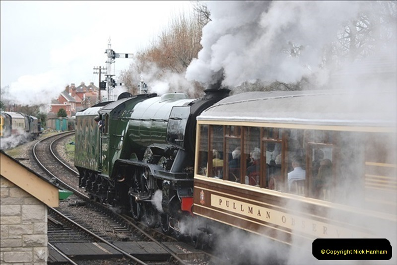2019-03-22 Flying Scotsman at Swanage. (145) 318