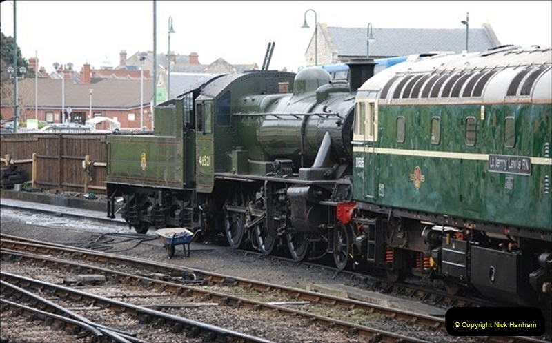 2019-03-22 Flying Scotsman at Swanage. (154) 327