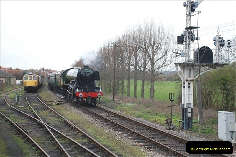 2019-03-22 Flying Scotsman at Swanage. (186) 359