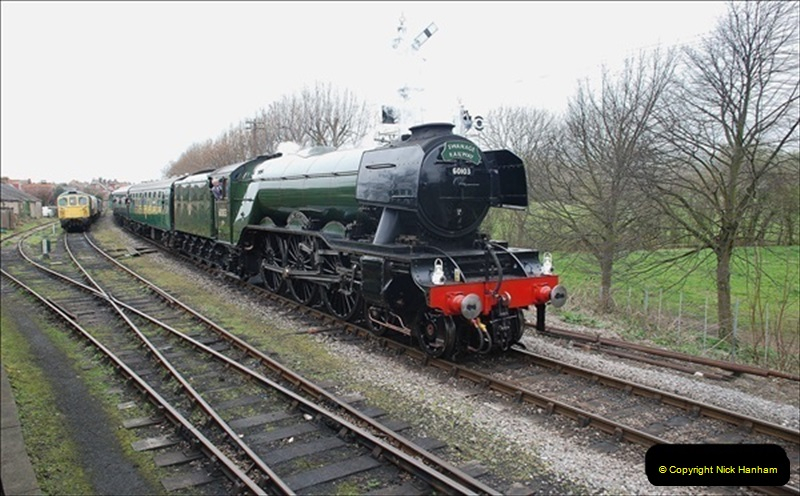 2019-03-22 Flying Scotsman at Swanage. (189) 362