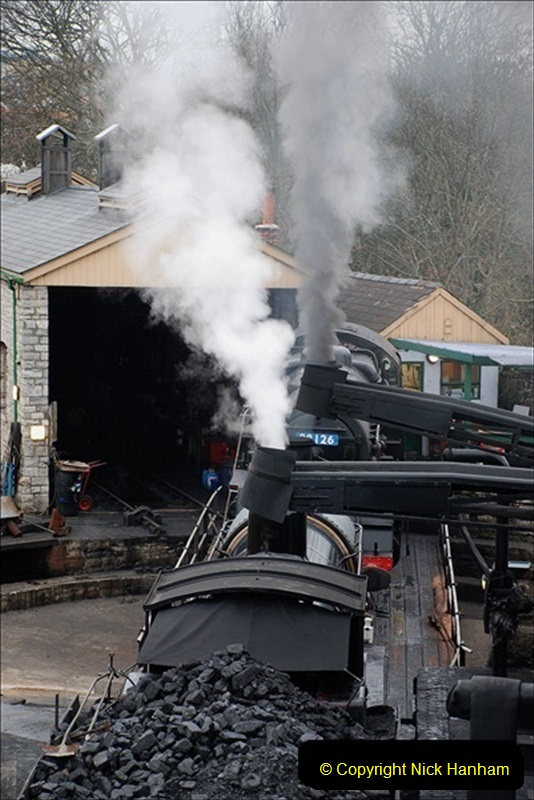 2019-03-22 Flying Scotsman at Swanage. (20) 193