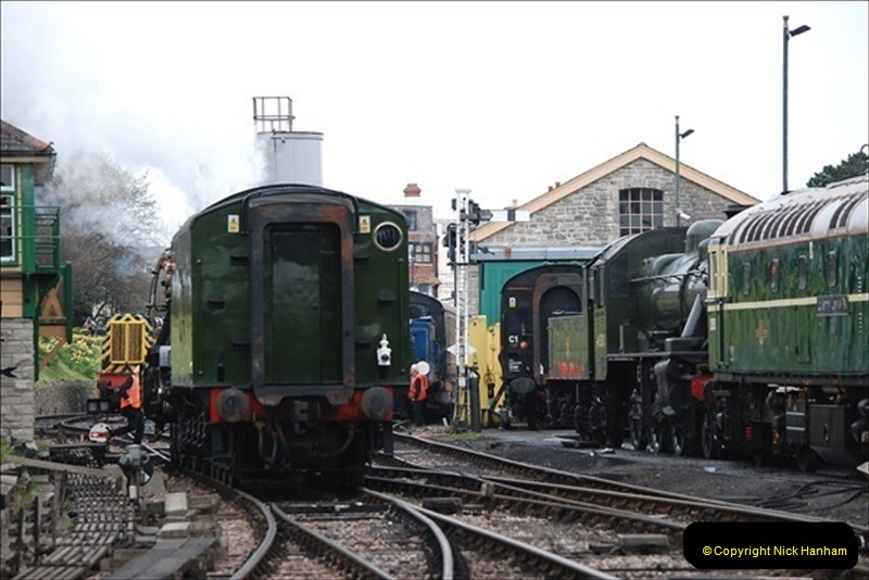 2019-03-22 Flying Scotsman at Swanage. (212) 385