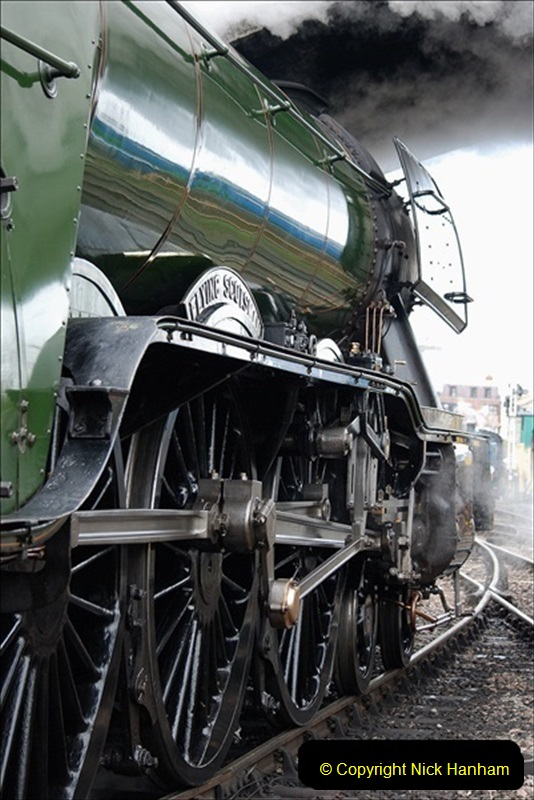 2019-03-22 Flying Scotsman at Swanage. (214) 387