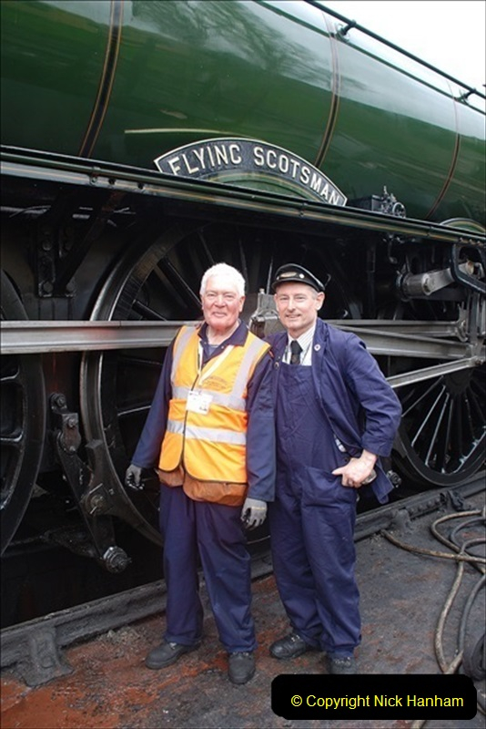 2019-03-22 Flying Scotsman at Swanage. (219) 392