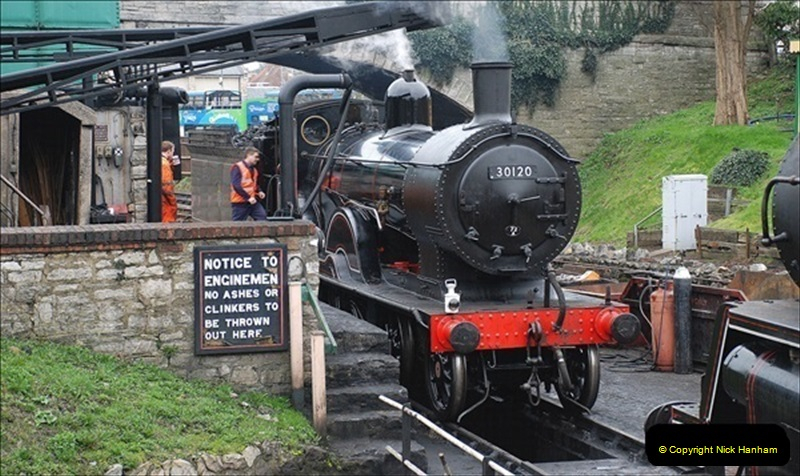 2019-03-22 Flying Scotsman at Swanage. (22) 195