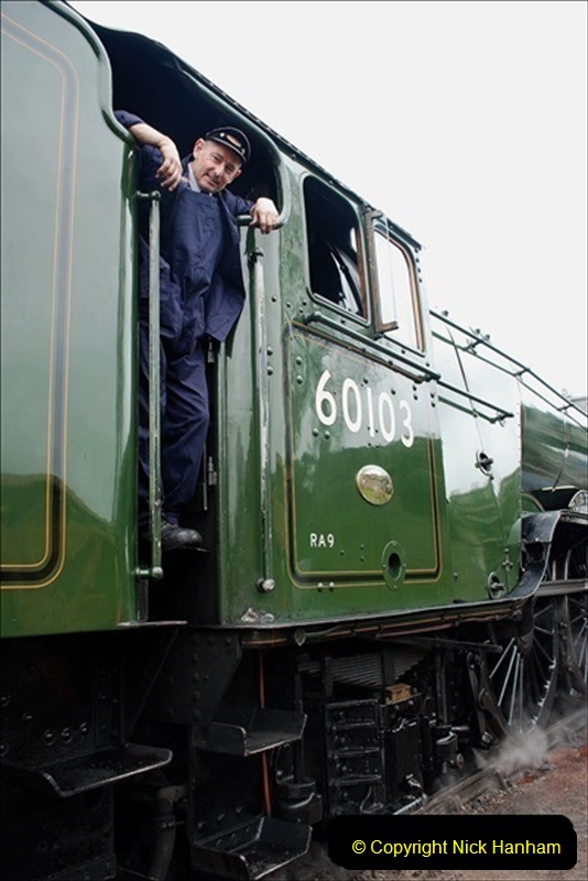 2019-03-22 Flying Scotsman at Swanage. (225) 398