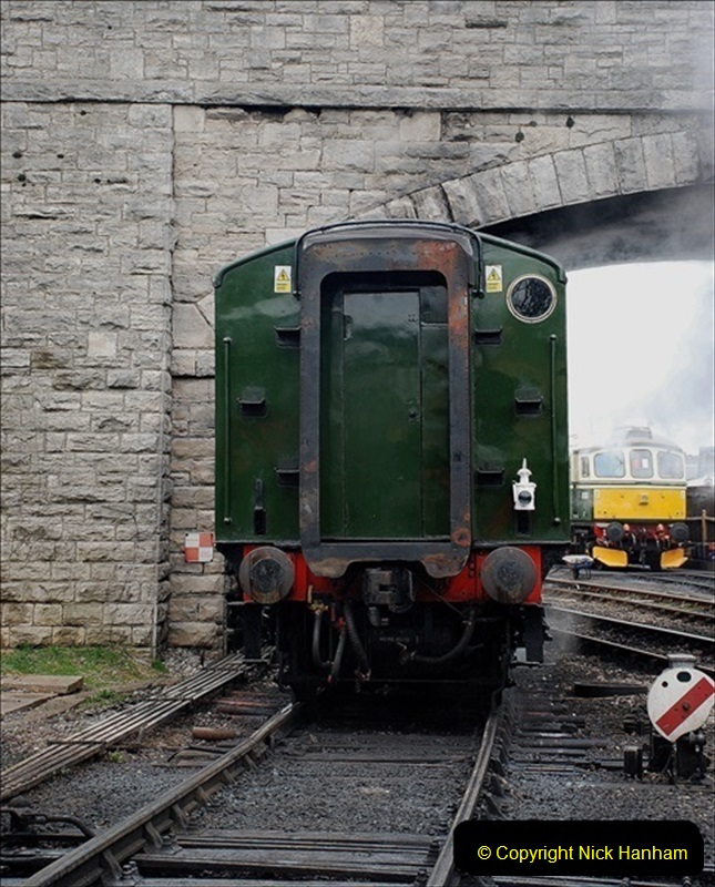2019-03-22 Flying Scotsman at Swanage. (227) 400