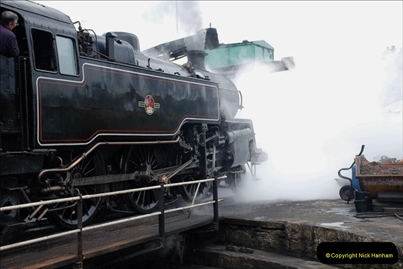 2019-03-22 Flying Scotsman at Swanage. (239) 412