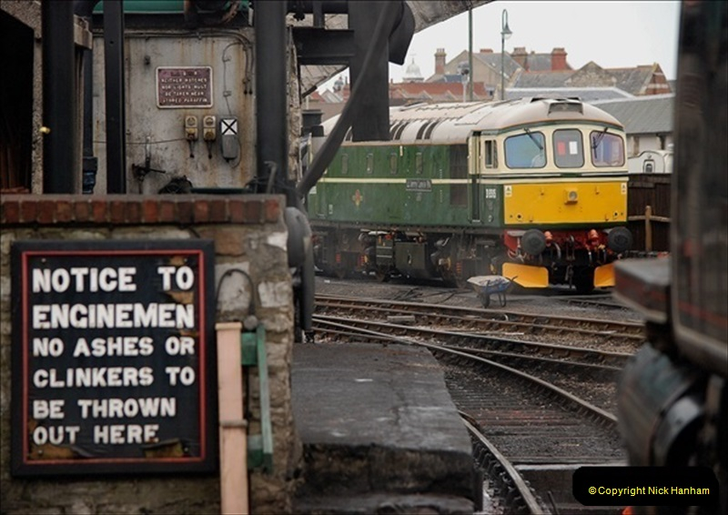 2019-03-22 Flying Scotsman at Swanage. (241) 414